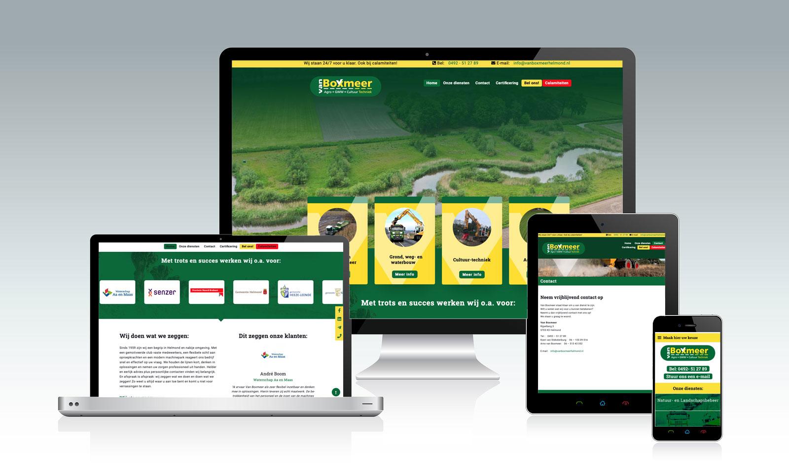 Website van Boxmeer Helmond