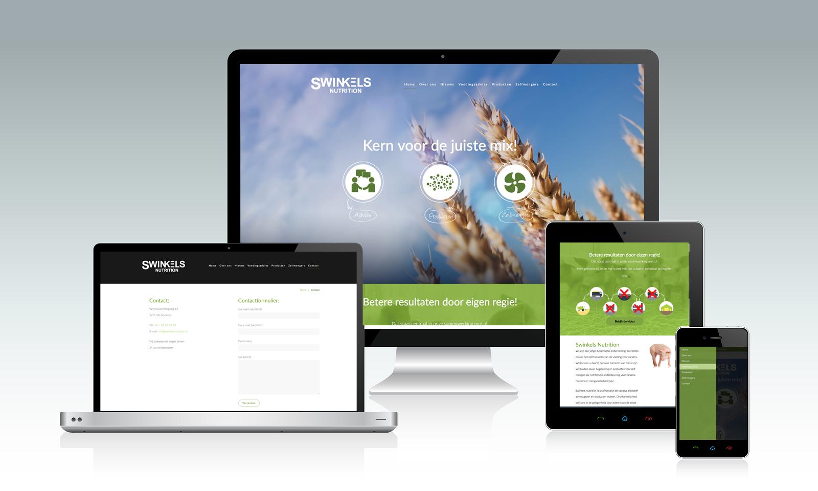 Website Swinkels Nutrition Someren