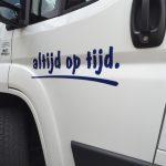 bedrijfswagen belettering someren asten