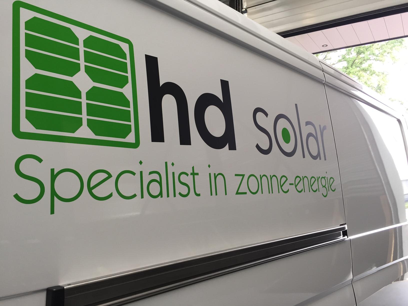 Busbelettering HD Solar Someren