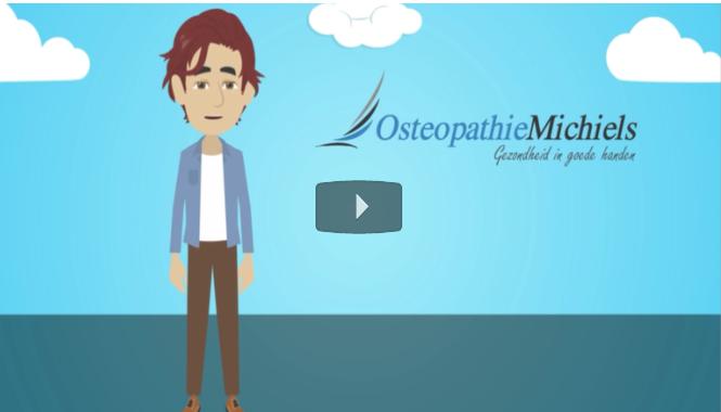 Animatievideo Osteopathie Michiels