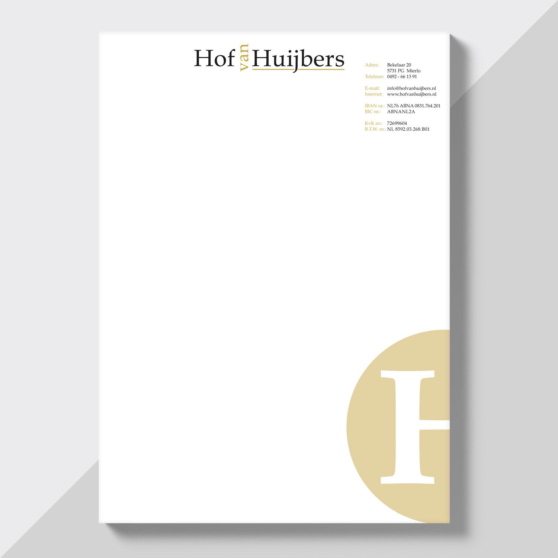 Briefpapier Hof van Huijbers