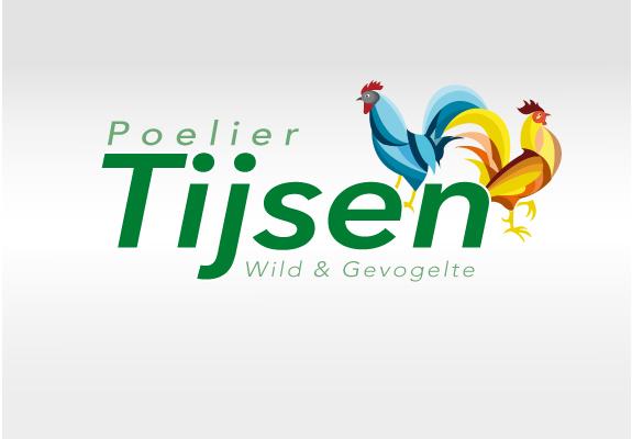 Logo ontwerp Poelier Tijsen