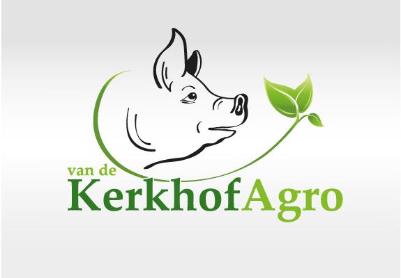 Logo ontwerp van de Kerkhof Agro