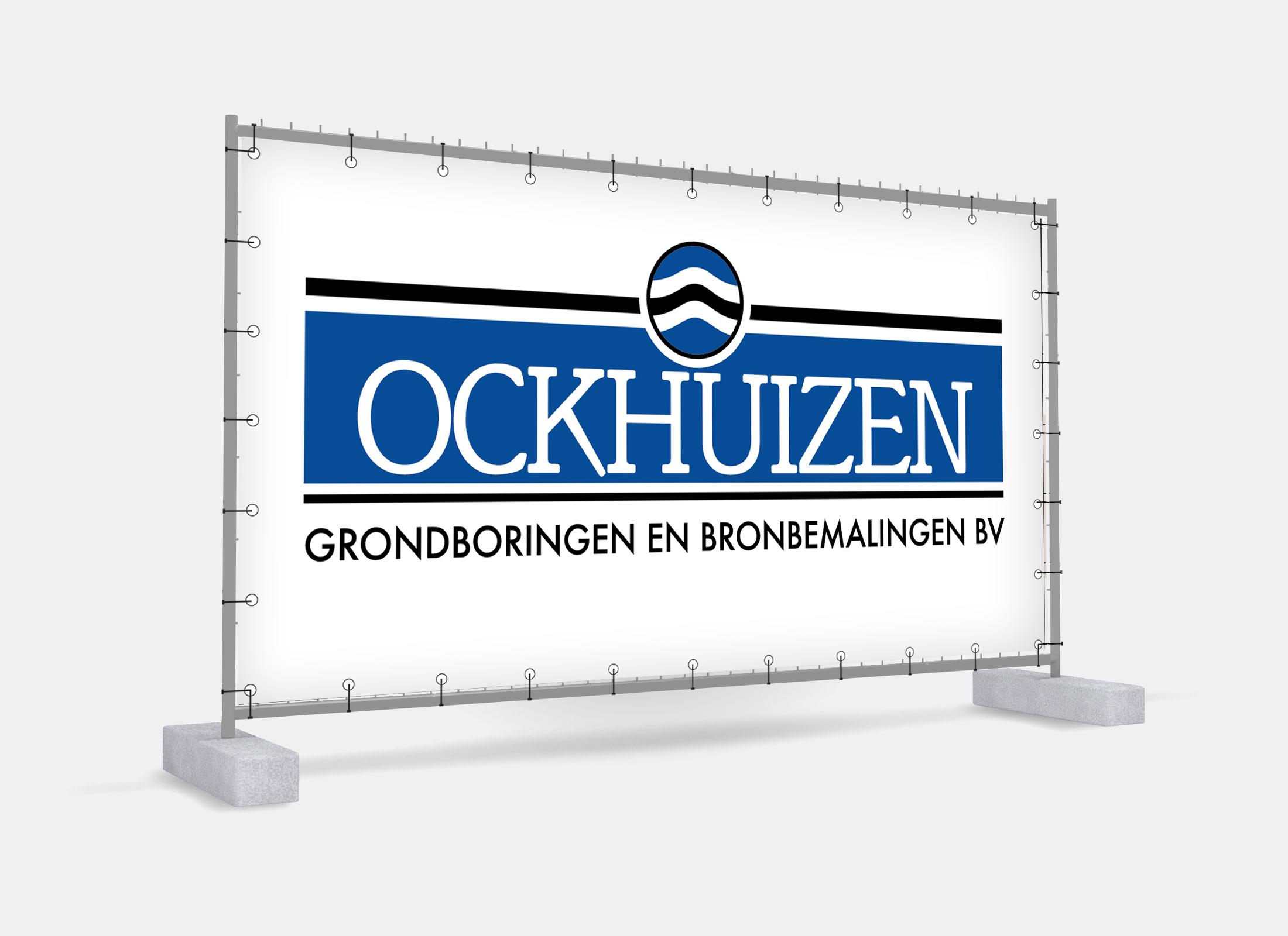 Bouwhek banner Ockhuizen Someren